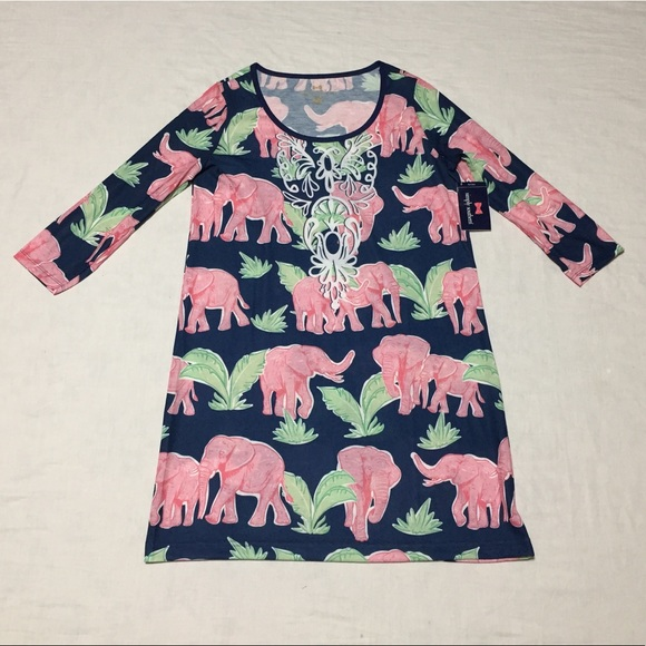 0a03ccf3c9d3 Simply Southern Scoop Dress Elephant Safari